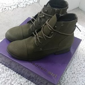Madden Girl Olive Booties